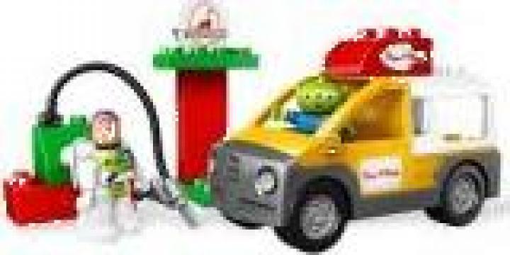 Joc Lego Camion de livrari pizza - L5658 de la Clever Toys Srl
