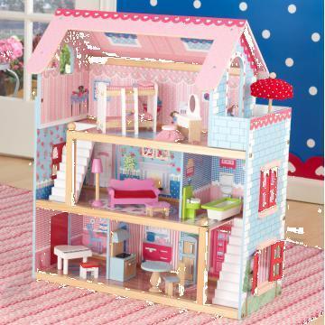 Jucarie Casa papusilor Chelsea doll house de la Interlink Resources Srl
