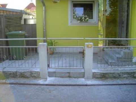 Garduri si porti din inox