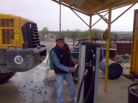 Pompa motorina depozit carburant de la Sabela Srl