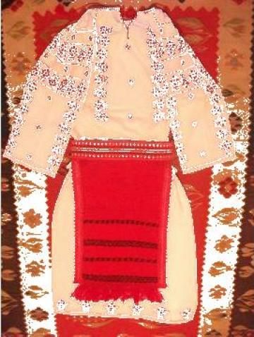 Costum national copii, fete