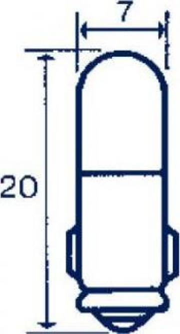 Bec baioneta, BA7s, 30V, 40 mA