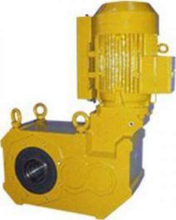 Mecanism special de transmisie cu roti dintate conice de la Watt Drive Motor
