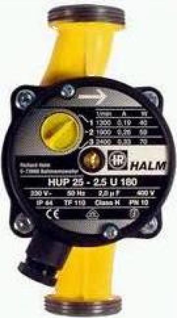 Pompa pentru circuitul de incalzire, racord filetat HALM