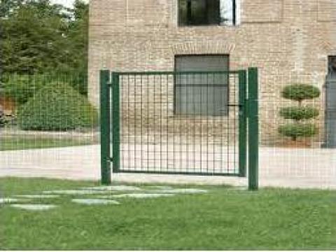 Gard din panouri de plasa zincata