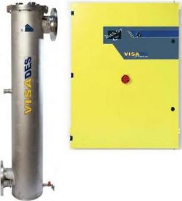 Sterilizator UV Visades T1200-400 140m3/h de la Tomas Prodimpex Srl.