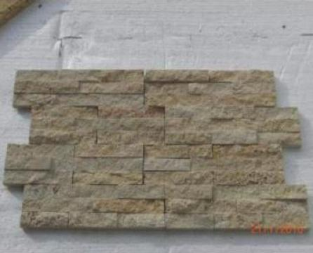 Mozaic Travertin Classic Split Face Brick 2x3x15 cm de la Geo & Vlad Com Srl