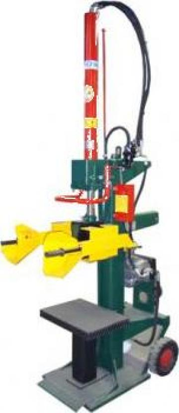Masina de crapat lemne verticala Leonard 10 de la Cod 5A Prodcomserv Srl