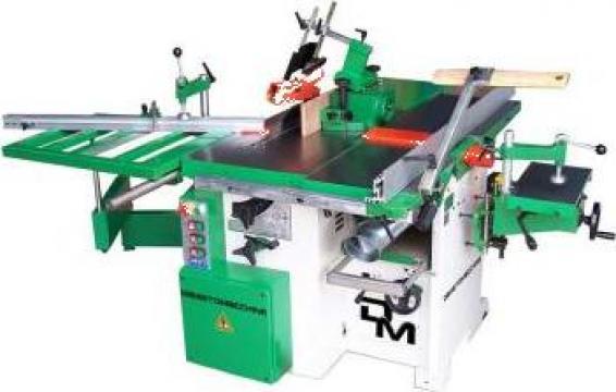 Masina combinata pentru tamplarie lemn de la Cod 5A Prodcomserv Srl