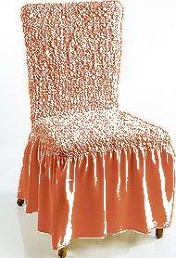 Huse pentru scaune pe forma acestora
