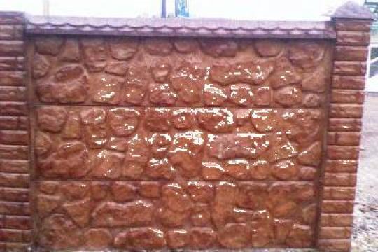 Boltari, borduri spalieri, gard beton, porti metalice de la Inteprindere Individuala Suta