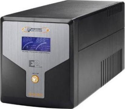 Stabilizator de tensiune (UPS) Infosec E2 LCD 800 de la Ask Tim