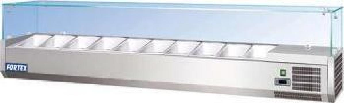 Vitrina ingrediente 1,5m 7xGN1/4 250784