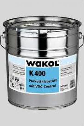 Adeziv pe baza de rasini sintetice pentru parchet K 400 de la Alveco Montaj Srl