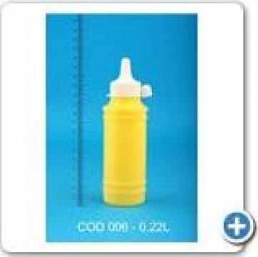 Flacon plastic 0,22 l de la Vanmar Impex Srl