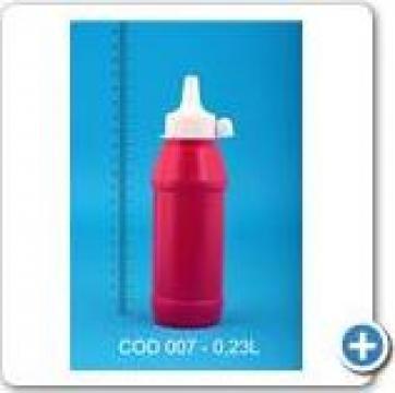 Flacon plastic 0,23 l de la Vanmar Impex Srl