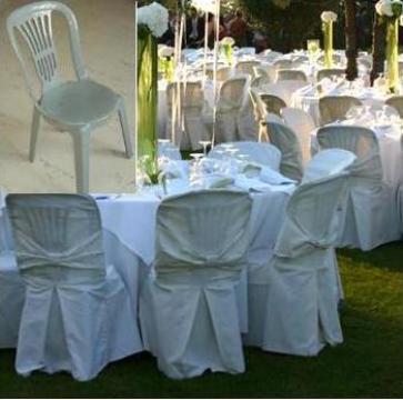 Huse scaune ivoire pentru nunti si botezuri evenimente unice