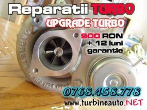 Reconditionari turbine auto, reparatii turbosuflante Garrett de la Turbineauto.net