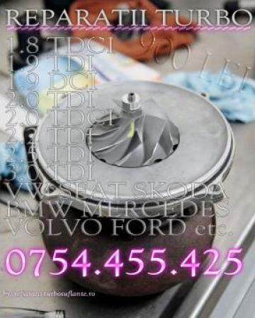 Reparatii turbina Mercedes, BMW, Audi , Seat, Skoda, VW de la Reparatii Turbosuflante