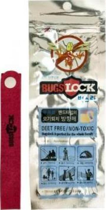 Bratara impotriva insectelor Green lock
