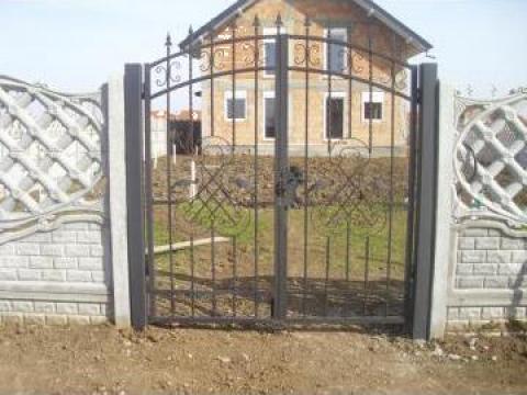 Porti si garduri fier forjat Timisoara