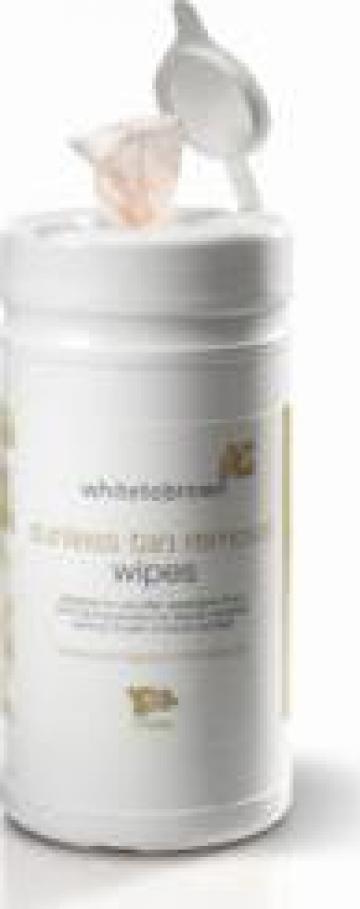 Servetele curatare White to Brown Sunless Tan Removal Wipes de la Organic Bronze