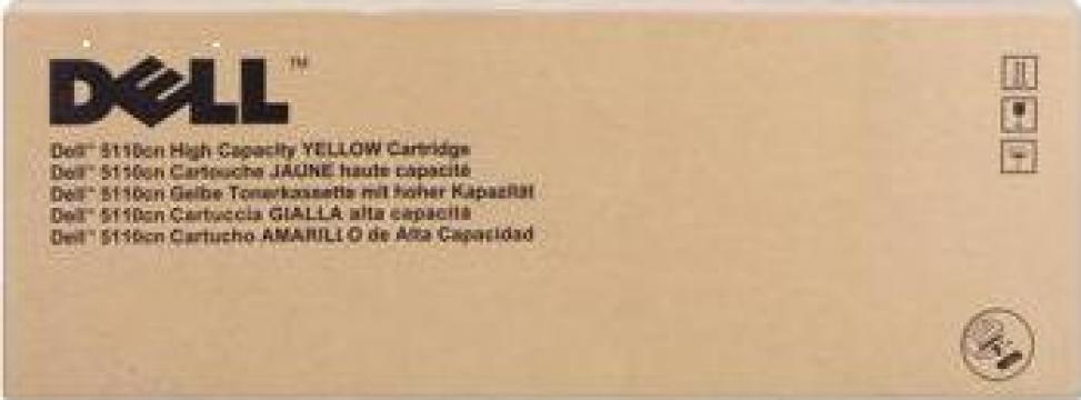Cartus Imprimanta Laser Original DELL JD750 de la Green Toner