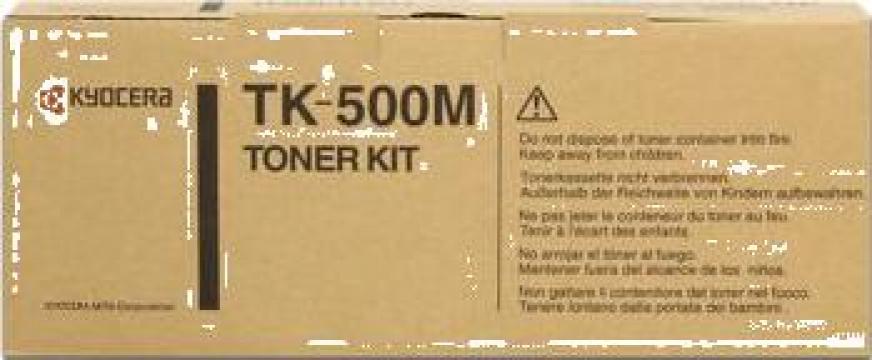 Cartus Imprimanta Laser Original KYOCERA TK-500M de la Green Toner
