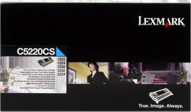 Cartus imprimanta laser original Lexmark C5220CS