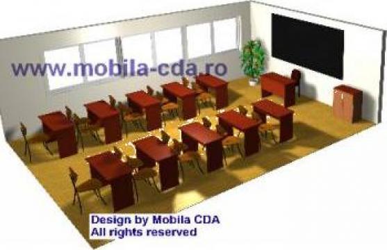 Mobilier scolar - Mobila CDA de la Cda Line
