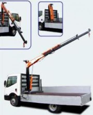 Macarale auto electro-hidraulice usoare sarcina 1200 kg de la Modul-Stor Hungary Kft.