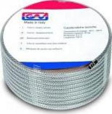 Furtun PVC Cristal cu insertie -echipat cu cuple rapide de la Airo & Co