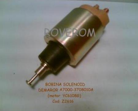 Bobina solenoid demaror vibrocompactor Lutong LTK 214