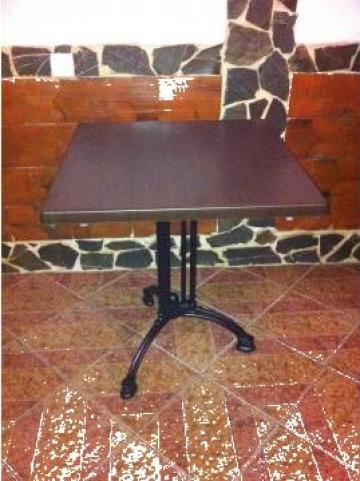 Mese cafenea cu picior de fonta de la Expres Com Alim Srl.