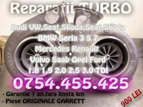 Reparatie turbina 1.9 TDI 2.0 TDI 2.5 TDI Audi Seat Skoda de la Reparatii Turbosuflante