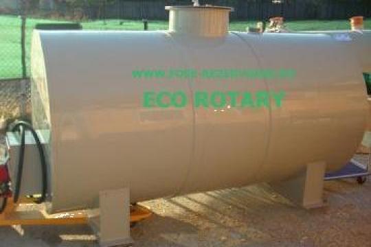 Rezervor suprateran 3mc. motorina cu pompa de la Eco Rotary SRL