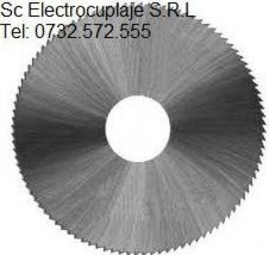 Freze disc de forma cu dinti drepti de la Electrofrane