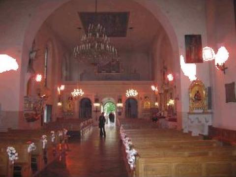 Panouri radiante cu lampi infrarosu ptr. incalzit catedrale de la Tehnocom Liv Rezistente Electrice, Etansari Mecanice