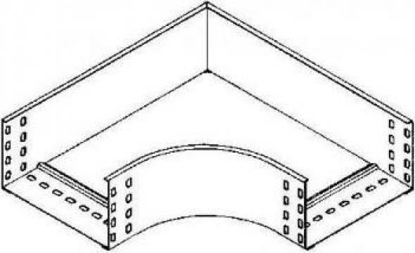 Cot 90 grade canal cablu