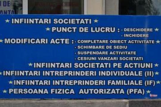 Servicii infiintari firme de la Prima Consult Pab