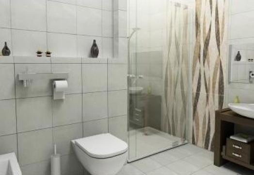 Servicii amenajari interioare - Proiect baie