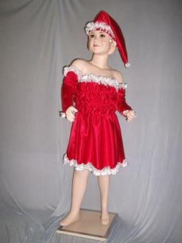 Costum de craciunita pentru fetite de la Costume De Serbare Pompilia Silaescu