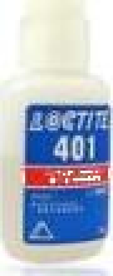 Adeziv rapid Loctite 401 / 50GR de la Baza Tehnica Alfa Srl