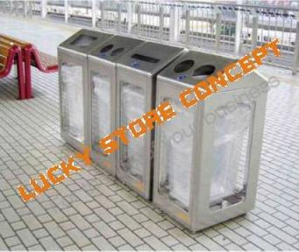 Containere gunoi inox de la Lucky Store Solution SRL