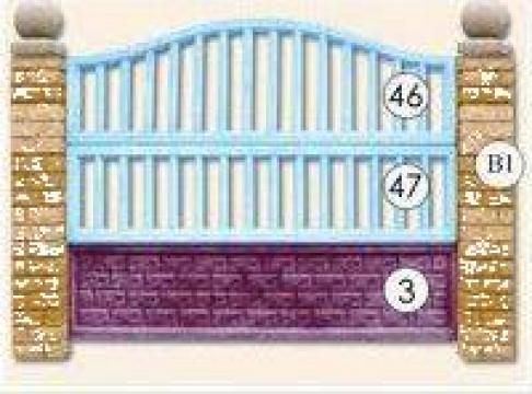 Garduri placi beton Nr. 18 de la Amonra Sun Srl