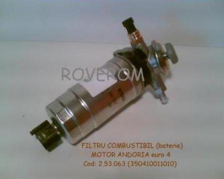 Filtru combustibil (baterie) motor Andoria euro 4