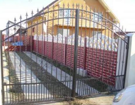 Porti, garduri fier forjat, inox Timisoara