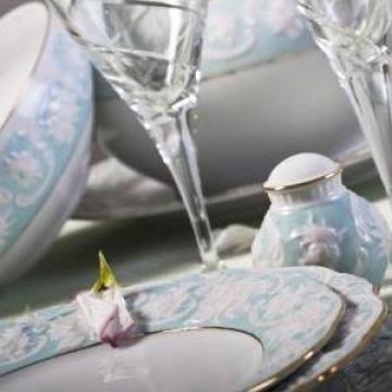 Serviciu masa portelan 26 piese de la Porcelain Manufactures Srl