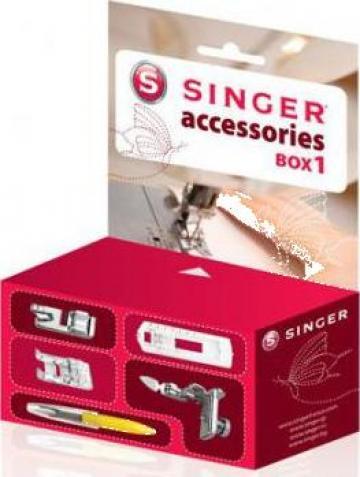 Set accesorii masini de cusut Singer de la Sercotex International Srl