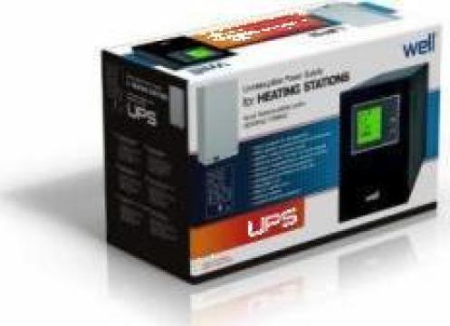 UPS pentru centrale termice - Well 1000 VA - 600W